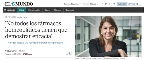 No todos los fármacos homeopáticos tienen que demostrar eficacia - El Mundo