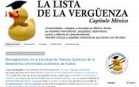 La lista de la vergüenza capítulo México