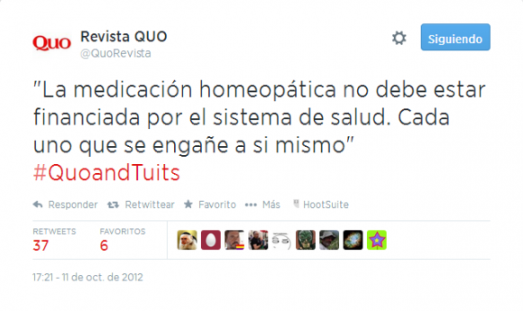 Twitter   QuoRevista   La medicación