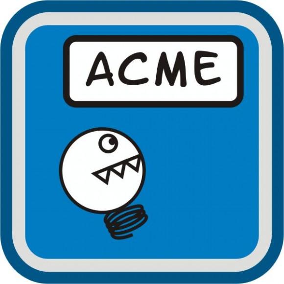 Acme logo redondeado 600
