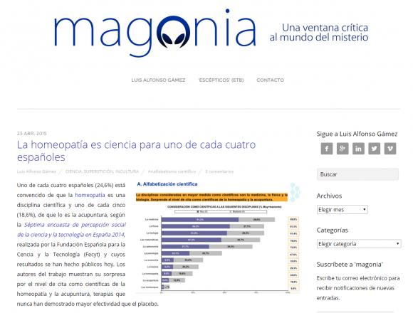 La homeopat�a es ciencia para uno de cada cuatro españoles