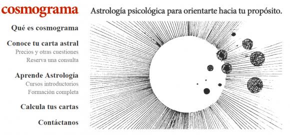 Cosmograma  Escuela de Astrología psicológica en Barcelona
