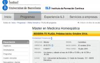 Máster Medicina Homeopática UB