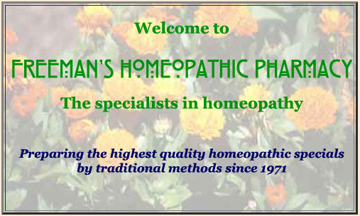 Freemans Homeopathic Pharmacy