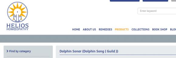 Helios Homoeopathy   Dolphin Sonar