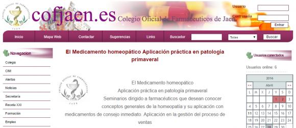 Colegio Oficial de Farmaceuticos de Jaen