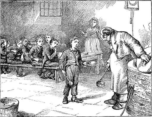 Grabado de Oliver Twist