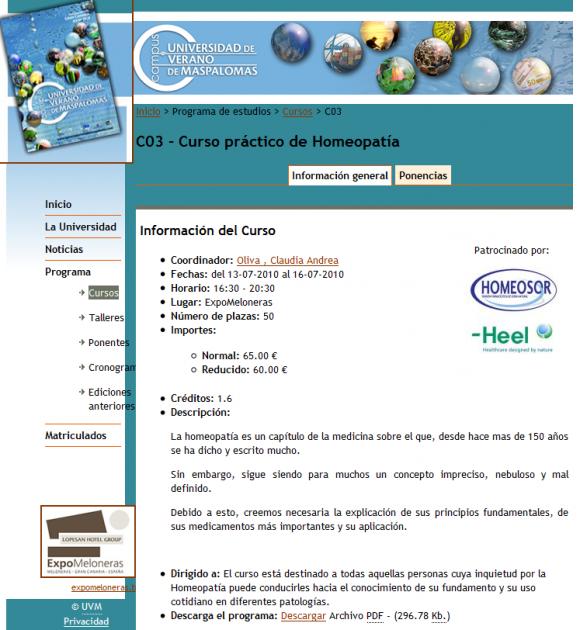 La Universidad de Las Palmas de Gran Canaria y sus cursos de verano
