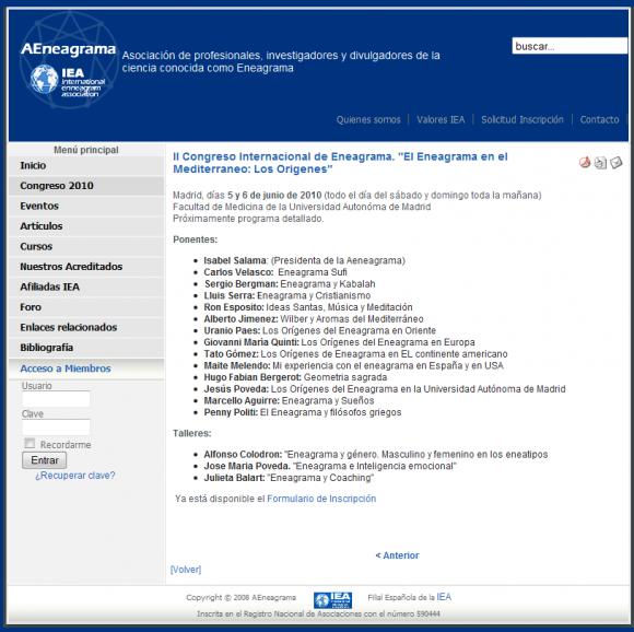 La Universidad Autónoma de Madrid alberga un congreso sobre el eneagrama