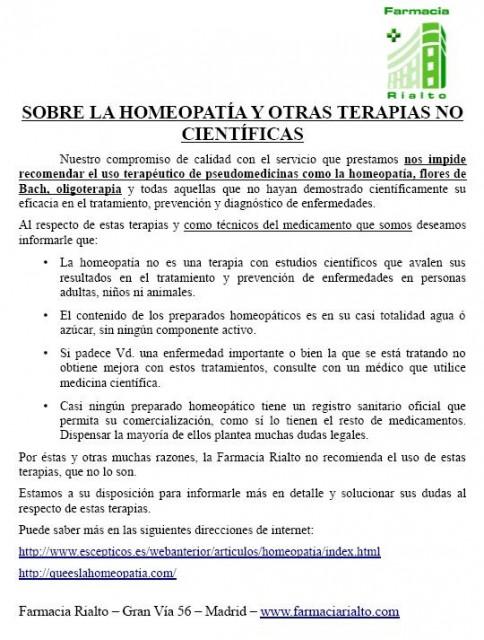 La Farmacia Rialto y el Colegio de Farmacéuticos de Madrid