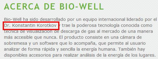 Acerca de   BioWell