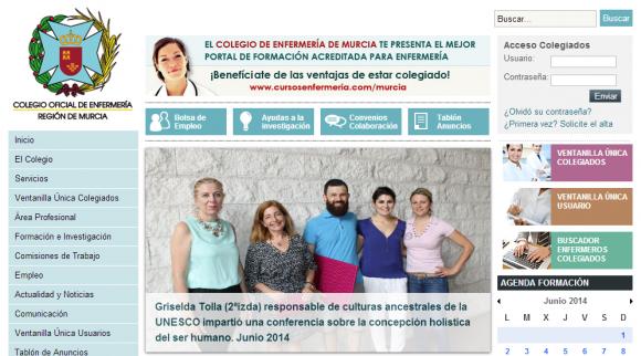 Colegio de Enfermería de la Región de Murcia   Inicio