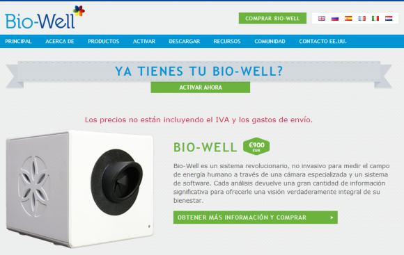 Productos   BioWell