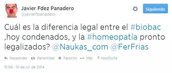 Twitter   javierfpanadero  Cuál es