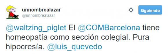 unnombrealazar en Twitter  El  COMBarcelona