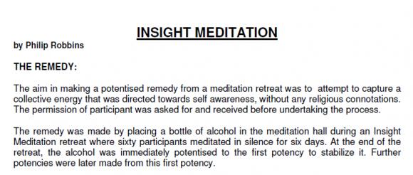 Insigh Meditation