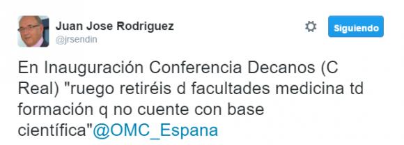Juan Jose Rodriguez En Inauguración Conferencia Decanos