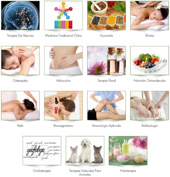 Pseudoterapias variadas
